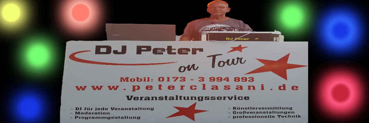 DJ Peter on Tour